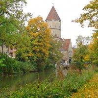 Осень в городе. Аугсбург :: Galina Dzubina
