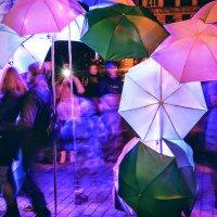 Цветные зонтики :: Юрий Тихонов