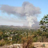 Пожар в горах :: lady-viola2014 -