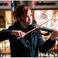 Ночная скрипачка :: Владимир Крамс