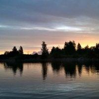 вечер на озере :: Tiana Ros