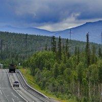 Где-то в России. 1238 км. на север от Санкт – Петербурга. :: kolin marsh
