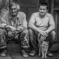 Александр Губарев - Отец сын и кот