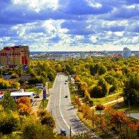 Утопающий в зелени Владимир :: Дарья Киселева