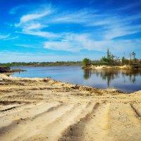Карьерное озеро :: Дарья Киселева