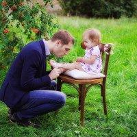 Отец и дочь :: наталья Дубовая
