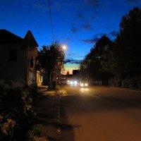 Вечер спустился на город. :: Sergey Serebrykov