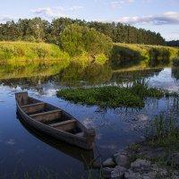 Вечер на реке :: Денис Щербак