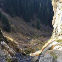 Бутаковский водопад, вид сверху. :: Anna Gornostayeva