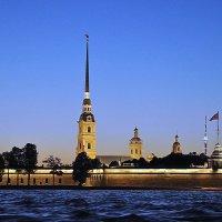 Белая ночь над Петропавловкой :: Марина Волкова