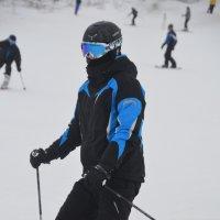Лыжник :: Вероника Полканова