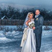 Зимняя свадьба :: Serg Bakumov