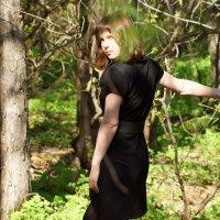 в лесу :: Анастасия Калачева