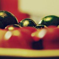 Пасхальный яйца задний план :: Константин Козлов