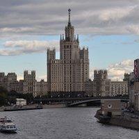Сталинская высотка Москва.8.09.2012г. :: Виталий Виницкий