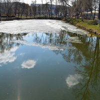 нерастаявший лед :: Натали Зимина
