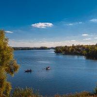 Октябрь на Журавлевском водохранилище :: Игорь Найда