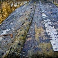 Старая лодка :: игорь козельцев