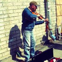 уличный скрипач :: татьяна якухина