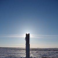 Столб сияние солнца :: Сергей Боярских