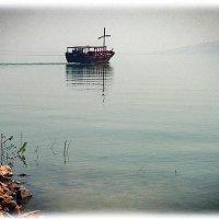 Шхуна Христа   озеро Кинерет Израиль :: Георгий Столяров