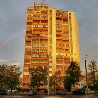 Радуга над городом :: Валентин Горбенко