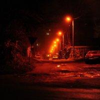 Ночная улица. :: Серёжа Пархачёв