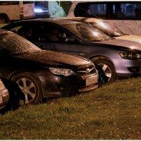 Ночью на парковке... :: Ольга Мореходова