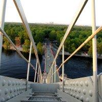 С вышки моста :: Ирина Чумакова