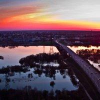 Великий Новгород на закате Солнца :: Павел Москалёв