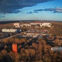 Город в лучах заката солнца :: Павел Москалёв