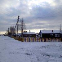 Октябрьское снежное утро :: Николай Туркин