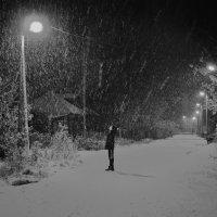первый снег :: Елена Кузнецова