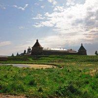 Соловецкий монастырь. Весна. :: Юрий Воронов