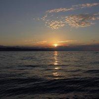 Рассвет на море. :: Андрей Дурапов