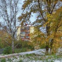Осень возле моего дома :: Валерий Талашов