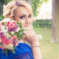 невеста в синем :: елена Алекс