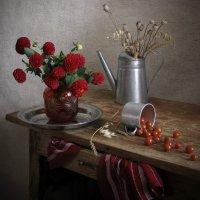 Красный цвет осени :: Татьяна Ким
