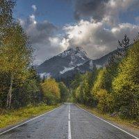 Дорога на Домбай :: Аnatoly Gaponenko