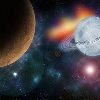 Моя галактика :: Ольга Русецкая