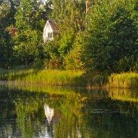 домик у озера :: Елена