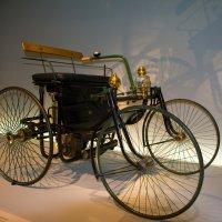 """Mercedes 1889 """"Stahlradwagen"""" :: Georg Förderer"""