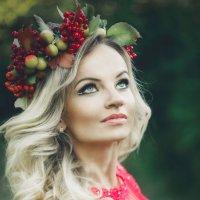 портрет лесной красотки :: Марина Руденко