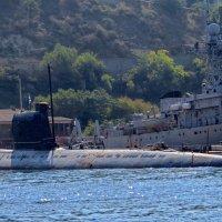Подводная лодка :: Вера Щукина