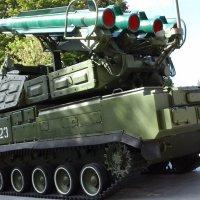Самоходная ракетная установка :: Дмитрий Никитин