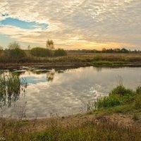 Осеннее озеро. :: Виктор Евстратов