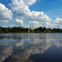 В речке плещутся облака :: Grey Bishop