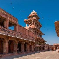 Индия ,зимний дворец падишаха. :: юрий макаров