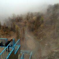 Туман в горах. :: Anna Gornostayeva