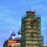 Храм Успения. Реставрация :: Николай Варламов